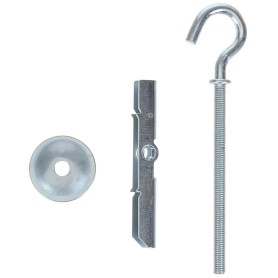 Анкер складной пружинный Standers 9x62 мм, с полукольцом, 2 шт.