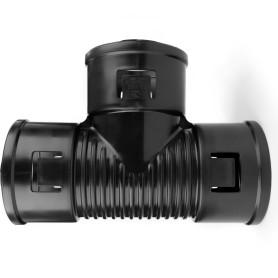 Тройник для дренажной трубы 110 мм