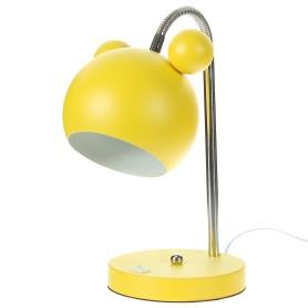 Лампа настольная Panda E27 40 Вт цвет жёлтый