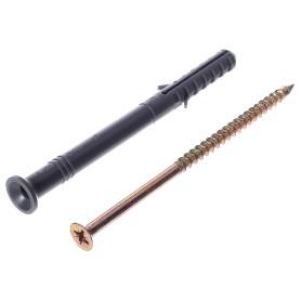 Дюбель-гвоздь потайной 8x100 мм, полипропилен, 10 шт.