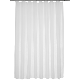 Тюль «Softy» на ленте 300х260 см цвет белый