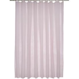 Тюль «Softy» на ленте 300х260 см цвет розовый
