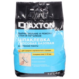 Шпаклёвка гипсовая базовая Axton 5 кг