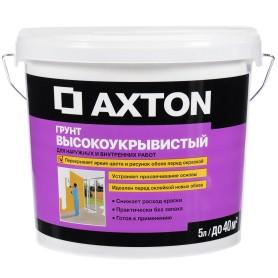 Грунт кроющий Axton 5 л