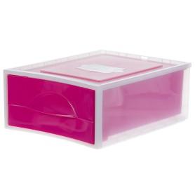 Система хранения Мобиле 475x342x178 мм цвет розовый
