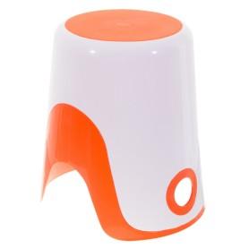 Корзина для белья 2 в 1 цвет оранжевый