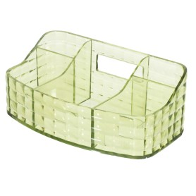 Органайзер для ванной комнаты цвет зелёный