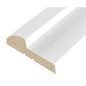 Комплект дверной коробки ламинированный Классика 26х70х2070 мм цвет белый