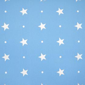 Плёнка самоклеящаяся «Голубые звёздочки» 0,45х2 м