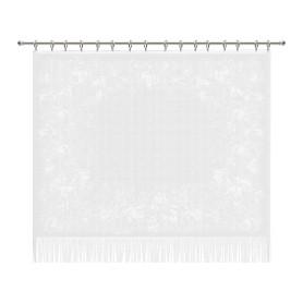 Занавеска «Лоза», 170х145 см, цвет белый