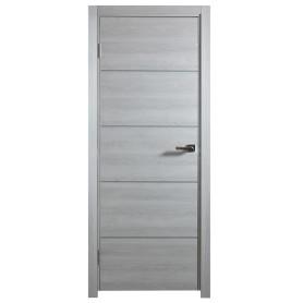 Дверь межкомнатная глухая Artens Нолан 80X200 см, цвет дуб бьянко