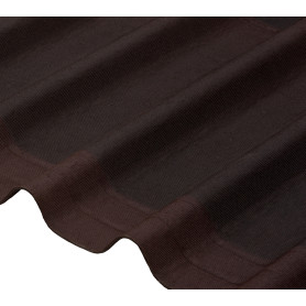 Черепица Ондулин DIY 3x820х1950 мм коричневый