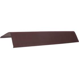Щипец Ондулин DIY коричневый