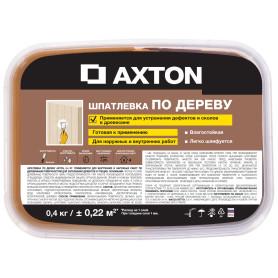 Шпатлёвка Axton для дерева 0,4 кг антик