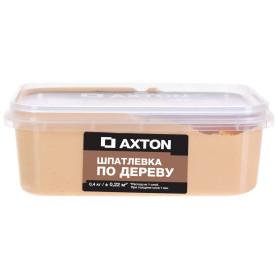 Шпатлёвка Axton для дерева 0,4 кг сосна