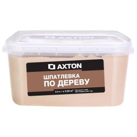 Шпатлёвка Axton для дерева 0,9 кг белое масло