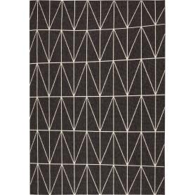 Ковёр Fenix 20412/693, 1.4х2 м, цвет чёрный