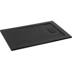 Поддон душевой Атриум 120х80 см цвет чёрный