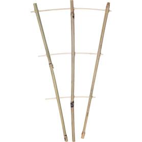 Решётка для вьющихся растений h45 см, d10/12 мм, бамбук