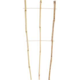 Решётка для вьющихся растений h60 см, d10/12 мм, бамбук