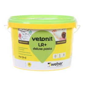Шпаклёвка готовая Weber vetonit pasta 5 кг