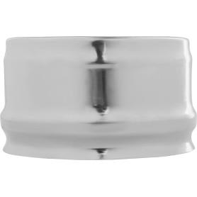 Заглушка внешняя для трубы 430/0.5 мм D110 мм