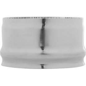 Заглушка внешняя для трубы 430/0.5 мм D120 мм