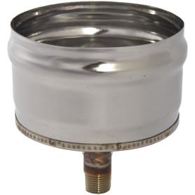 Отвод конденсанта для трубы внешний 430/0.5 мм D120 мм