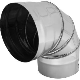 Колено 4 секции угол 90 (430/0.5мм) D150 мм