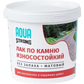 Лак по камню Aquastrong матовый 2.5 кг