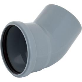 Отвод Ø 110 мм 45° полипропилен
