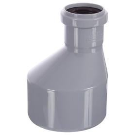 Переход эксцентрический длинный Ø 110/50 мм полипропилен