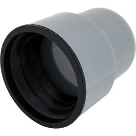 Переход с пластика на чугун Ø 110/124 мм полипропилен