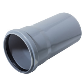 Труба канализационная Ø 110 мм L 1м полипропилен