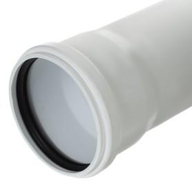 Труба канализационная c шумопоглощением Equation Ø 110 мм L 0.15м полипропилен