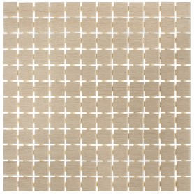 Мозаика «Вяз» 29.8х29.8 см цвет бежевый