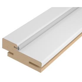 Комплект дверной коробки Лацио/Британия/Австралия с уплотнителем 2100х71 мм цвет белый