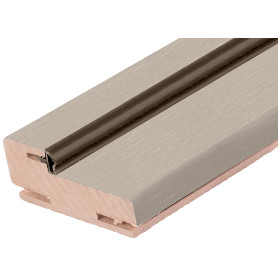 Дверная коробка Трилло 2100х70 мм,  Hardflex, цвет ясень