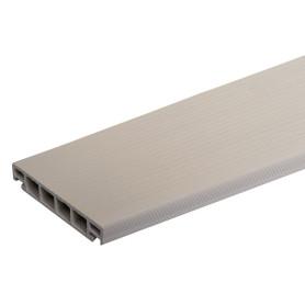 Террасная доска ДПК ITP цвет Дуб беленый 3000х162х26 мм 0.486 м²