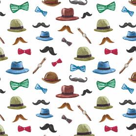 Бумага упаковочная «Шляпы» 50х70/2 листа