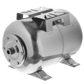 Гидроаккумулятор горизонтальный 24 л, фланец нержавеющая сталь