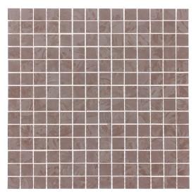 Мозаика «Флориант» 30х30 см цвет коричневый