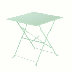 Стол садовый квадратный Naterial Flora Origami складной 70х70х71 см сталь зеленый