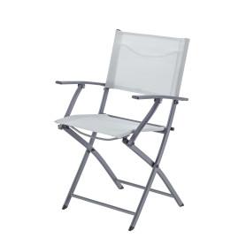 Кресло Naterial Emys Origami складное 54х52х83 см сталь светло-серый
