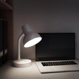 Лампа настольная «Buro» 1хE27х40 Вт, цвет белый