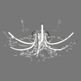 Люстра светодиодная Eurosvet Bianka 90037/6, 15 м², цвет хром