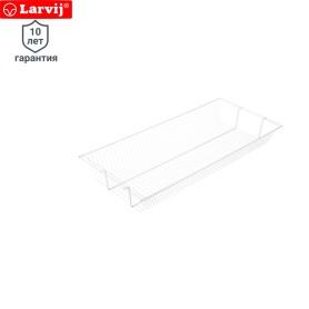 Полка-корзина Larvij 903x406x118 мм цвет белый