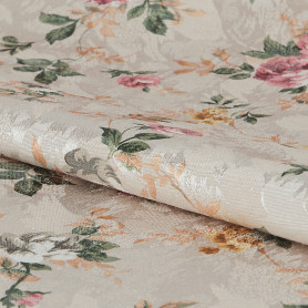 Ткань «Интерио» ширина 150 см цвет бежевый