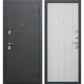 Дверная металлическая Гарда 7.5 муар 860 мм правая, цвет дуб сонома