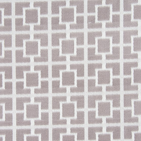 Ткань жаккард «Квадраты» 300 см цвет серый